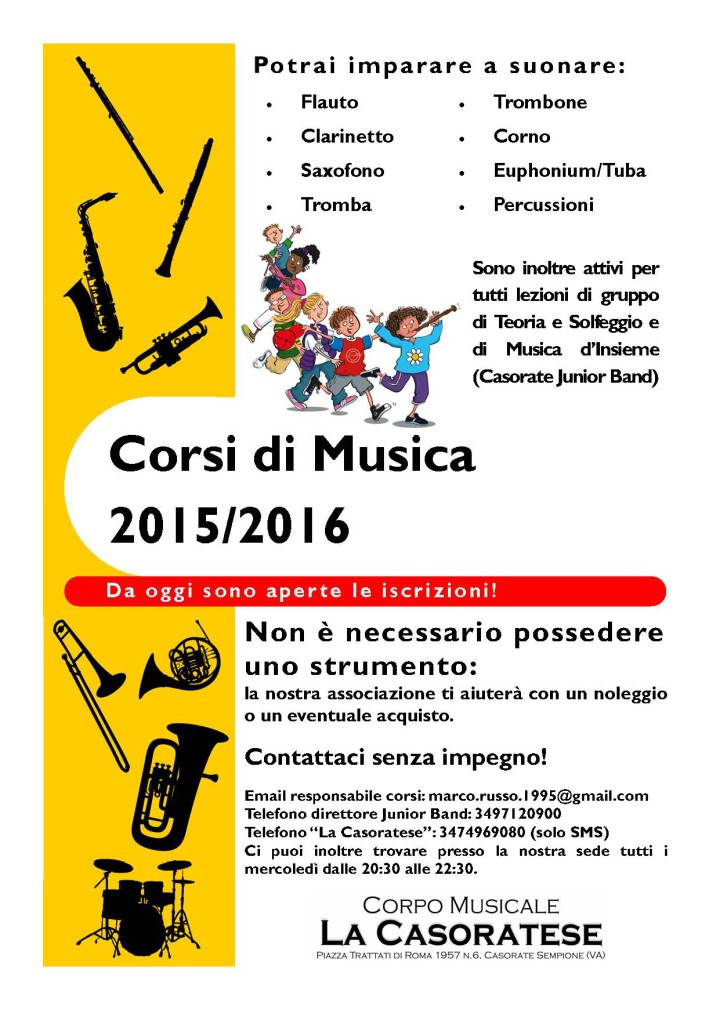 Manifesto corsi 2015-2016
