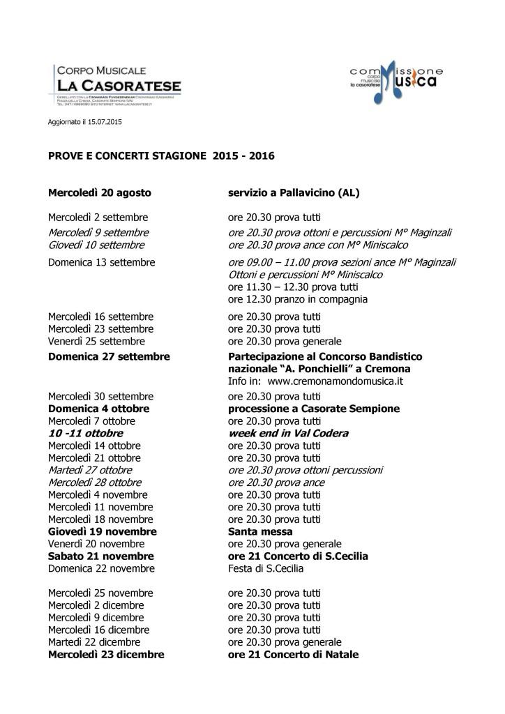 Calendario prove settembre - dicembre  2015_versione 15.07.2015